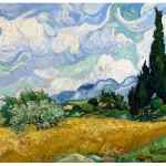 Van Gogh op Canvas